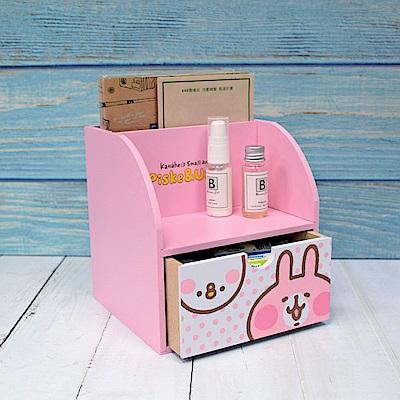 Kanahei 卡娜赫拉-兔兔&P助 桌上單抽筆筒 文具收納 飾品收納
