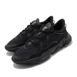 adidas 休閒鞋 Ozweego 復古 低筒 男鞋 愛迪達 三葉草 反光 穿搭 流行款 黑 灰 FV9665