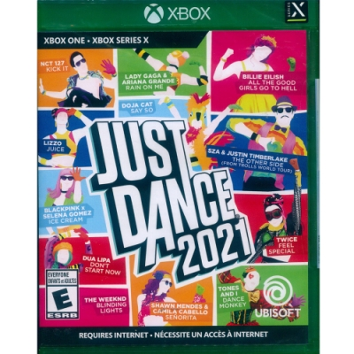 舞力全開 2021 Just Dance 2021 - XBOX ONE 中英文美版