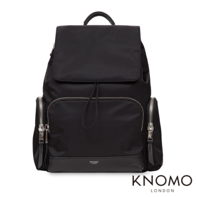 KNOMO 英國 Clifford 電腦後背包 - 經典黑 13 吋