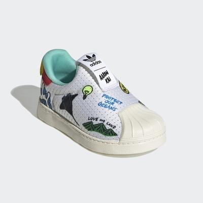 adidas SUPERSTAR 360 PRIMEBLUE 經典鞋 男童/女童 FX4926