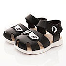 TOPUONE童鞋 皮革護趾涼鞋款 SI19502黑(小童段)
