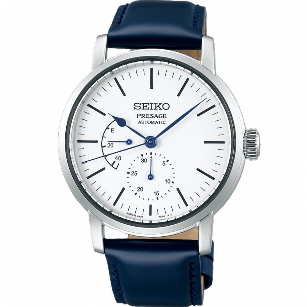 SEIKO Presage 動力儲存琺瑯機械錶(SPB161J1) 6R27-00R0Z/40mm