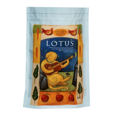 LOTUS 樂特斯 鮮雞肉佐鱈魚 成犬-中顆粒 5磅