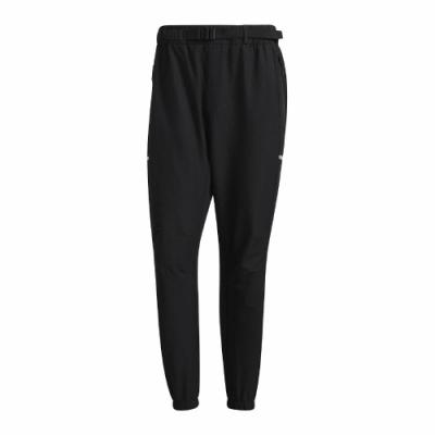adidas 長褲 Tech Pants Wooven ID 男款 愛迪達 戶外風格 彈力腰身 穿搭推薦 黑 銀 GP0958