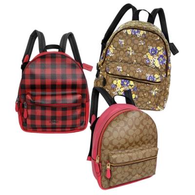 [時時樂] COACH 實用大容量中款後背包均一價3612元