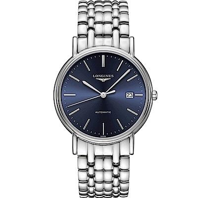 LONGINES 浪琴 Presence 經典時尚機械錶(L49214926)