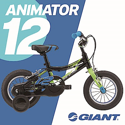 GIANT ANIMATOR 12 鋁合金輕量童車