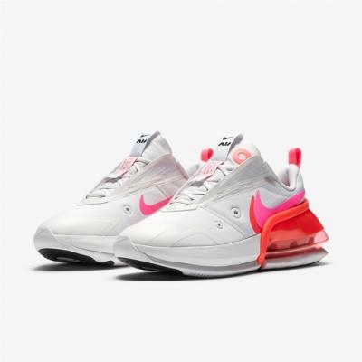 Nike 休閒鞋 Air Max Up 運動 女鞋 氣墊 舒適 避震 簡約 球鞋 穿搭 白 粉橘 CK7173001