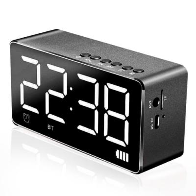 Gmate 時尚精品鏡面時鐘藍牙音箱SUB8(公司貨)
