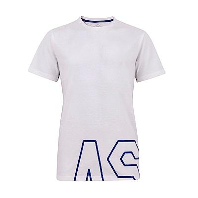 ASICS 男棉感短袖上衣(白) 2031A868-100