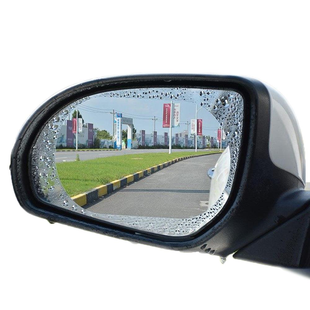 WIDE VIEW 奈米橢圓形後視鏡防雨膜防霧膜-兩片裝 (RF-127)