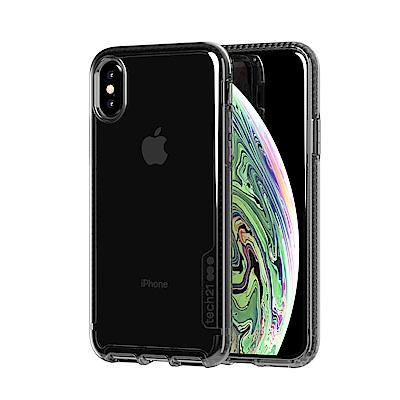 Tech21英國抗衝擊PURE TINT防撞硬式透黑保護殼-iPhone X/Xs
