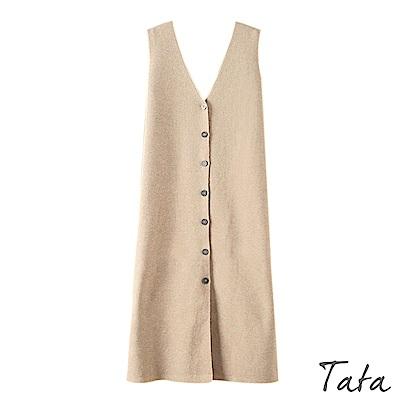 長版針織背心外套 共三色 TATA
