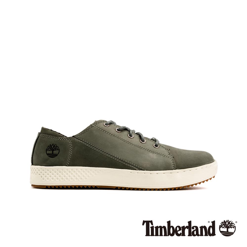Timberland 男款中灰色磨砂革休閒鞋 A1Z5T