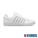 K-SWISS Court Winston休閒運動鞋-男-白/灰