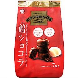 不二家 鄉村餅[紅豆巧克力風味](84g)