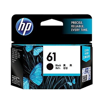 惠普 HP CH561WA (NO.61) 黑色 原廠墨水匣