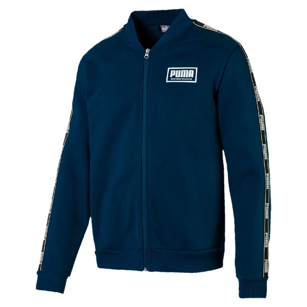 PUMA-男性基本系列Holiday立領外套-直布羅陀海藍-歐規