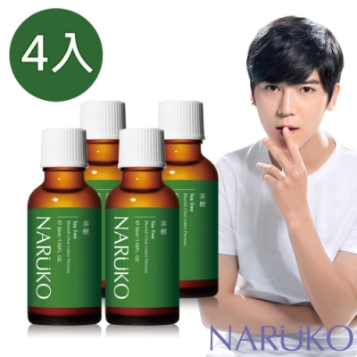 [時時樂限定]NARUKO 牛爾 茶樹抗痘粉刺寶 4入