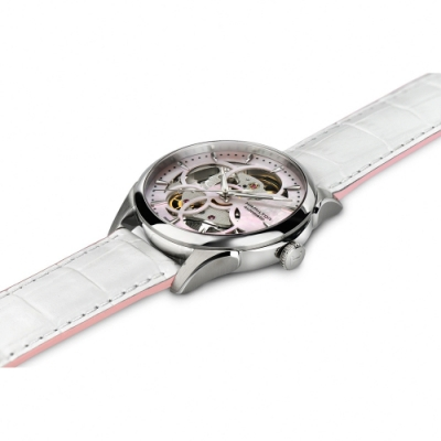Hamilton 漢米爾頓 JAZZMASTER 我們與惡的距離 鏤空機械女錶-36mm