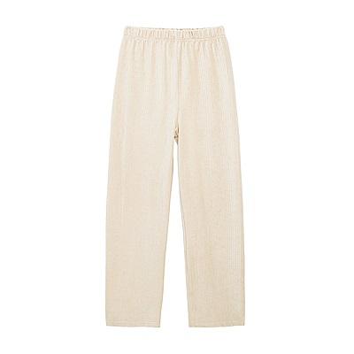 Shester55-坑條針織長褲(兩色)-女【RSH212】