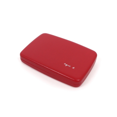 agnes b. 名片收納盒(紅)