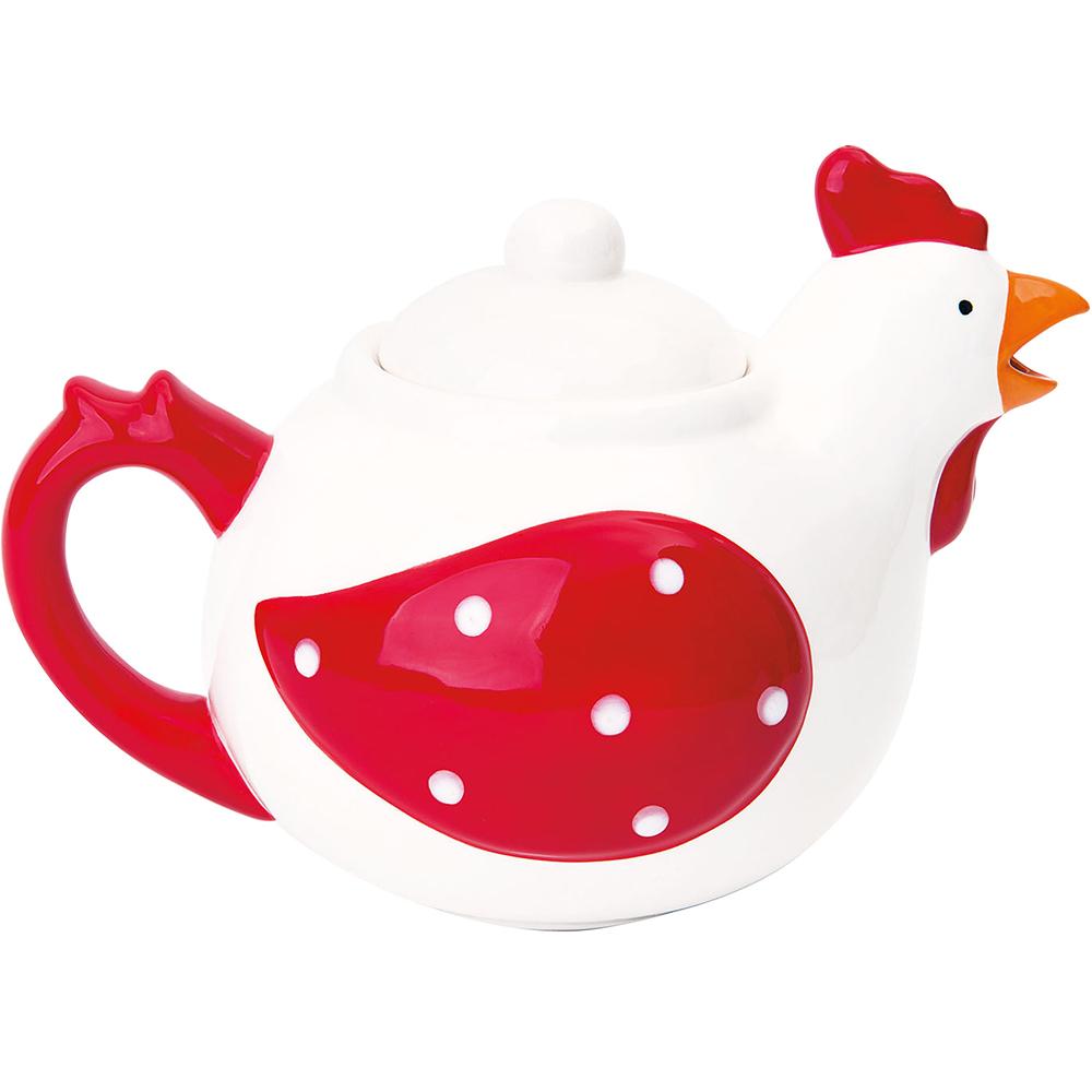 《EXCELSA》咕咕雞手繪陶製茶壺(700ml)