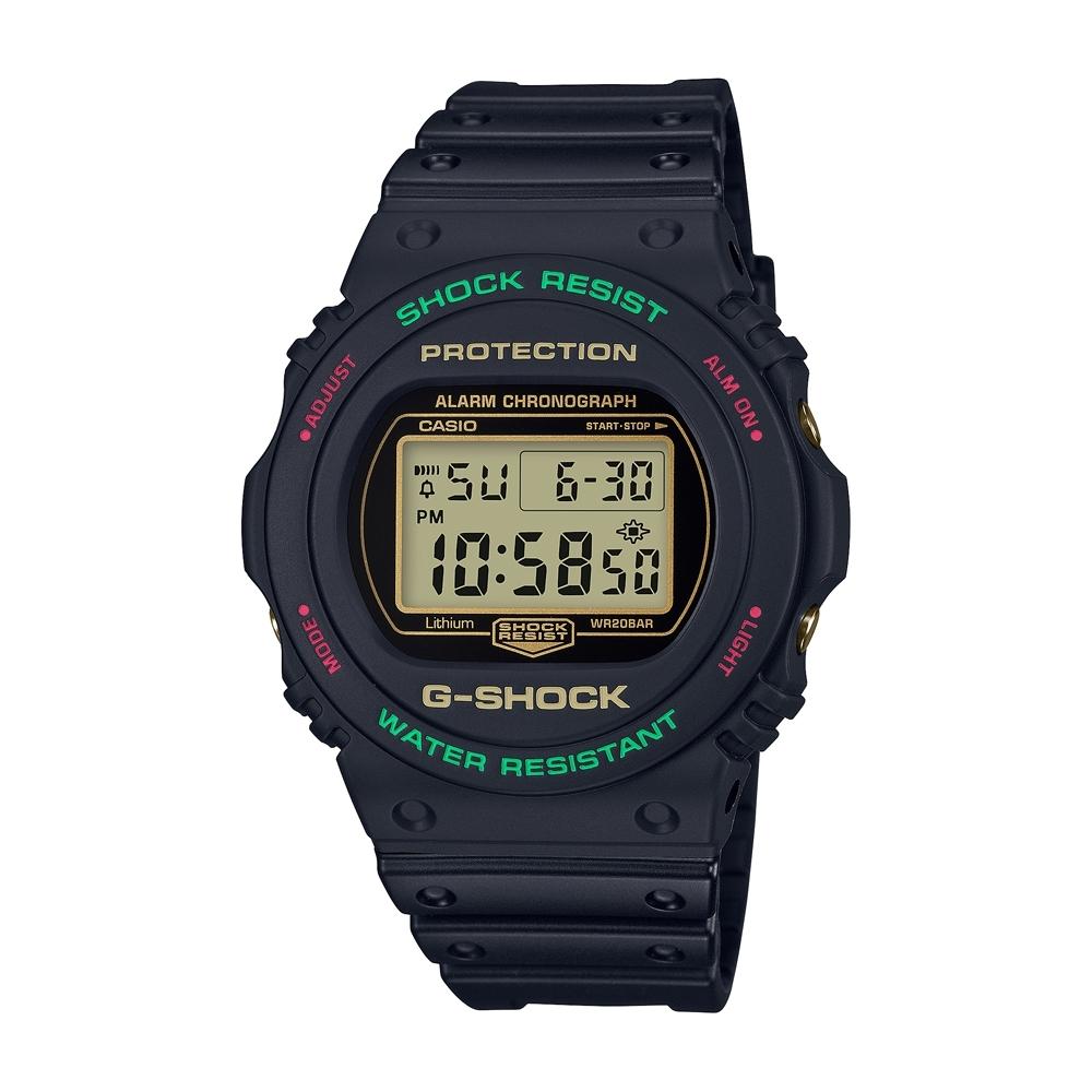 CASIO卡西歐 G-SHOCK 圓形數位系列 DW-5700TH-1_45.4mm