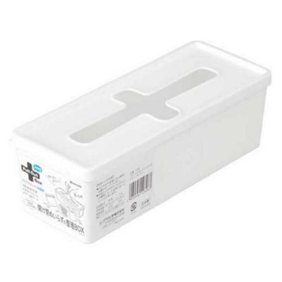 日本製【INOMATA】十字濕紙巾收納盒 長型