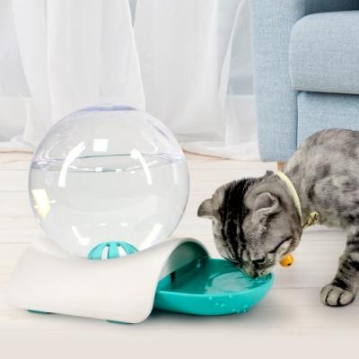 JohoE嚴選 水晶球寵物飲水器/喝水盆/自動進水