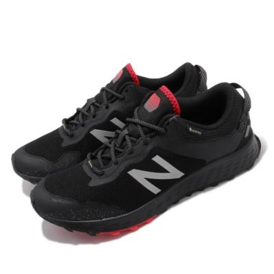 New Balance 慢跑鞋 Fresh Foam 超寬楦 運動 男鞋 Gore-Tex 防潑水 避震 跑鞋 黑 紅 MTARISGB4E
