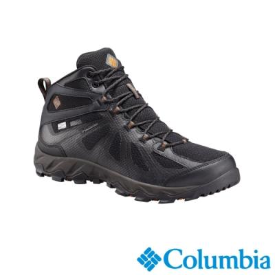 Columbia 哥倫比亞 男款-Outdry 防水高筒健走鞋-黑色