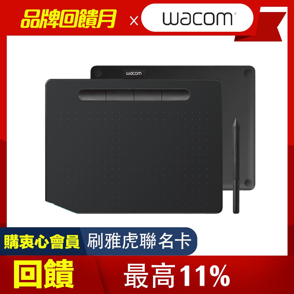 【動漫學習包】Wacom Intuos Comfort Medium 藍牙繪圖板(黑)
