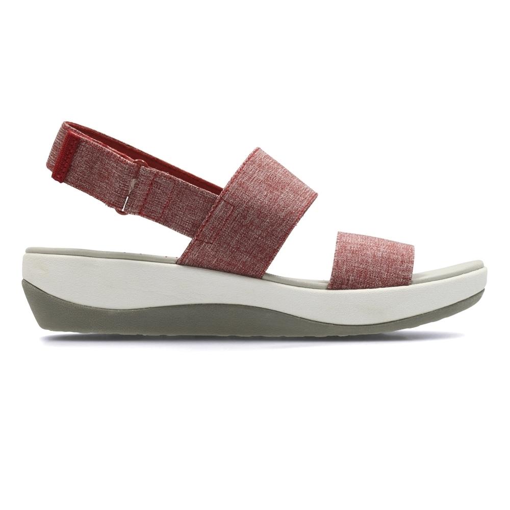 Clarks Arla Jacory 女 涼鞋 紅