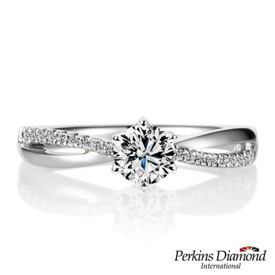 PERKINS 伯金仕-GIA 夏綠蒂系列 30分 E/SI1鑽石戒指