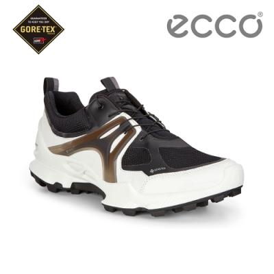 ECCO BIOM C-TRAIL W 縱橫越野健步運動鞋 女-黑/白