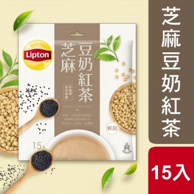 立頓 芝麻豆奶紅茶15X19g