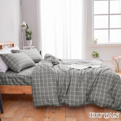 DUYAN竹漾 MIT 天絲絨-雙人床包枕套三件組-暮光之城