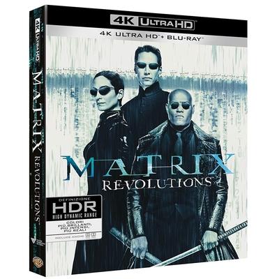 駭客任務完結篇:最後戰役 UHD+BD+Bonus 三碟限定版