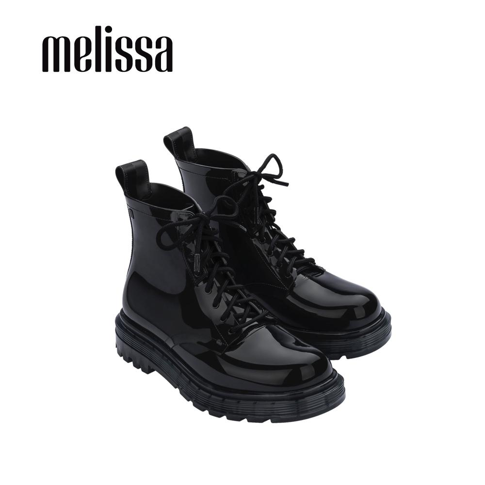 Melissa COTURNO綁帶造型帥氣短靴-黑
