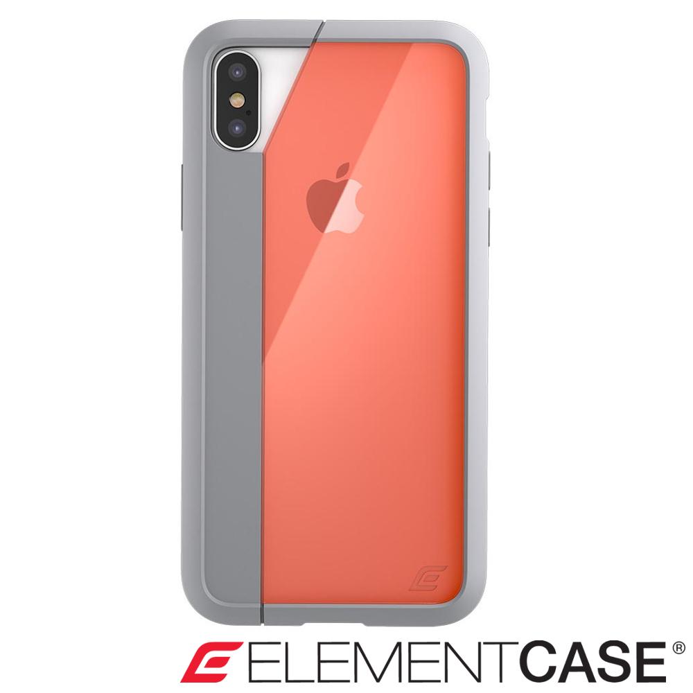 美國 Element Case iPhone XS / X Illusion防摔手機殼-橘