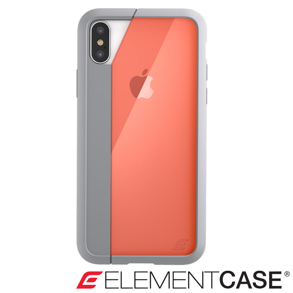 美國 Element Case iPhone XS Max Illusion防摔手機殼-橘 product image 1