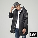 Lee 連帽防風外套 男 黑