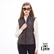 【Lynx Golf】女款防潑水滿版Lynx字體無袖鋪棉背心-黑色 product thumbnail 2