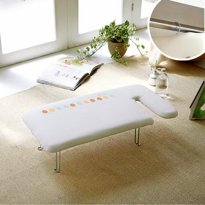 日本【YAMAZAKI】G型可掛式桌上型燙衣板-可愛鈕扣