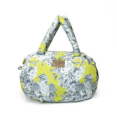 VOVAROVA空氣包-三用肩背托特包-花漾 • 黃