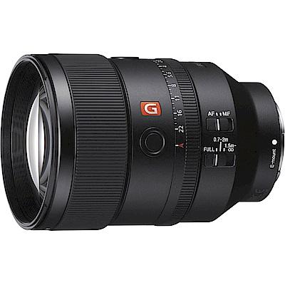 SONY FE SEL135mm F1.8GM 望遠定焦鏡(公司貨)