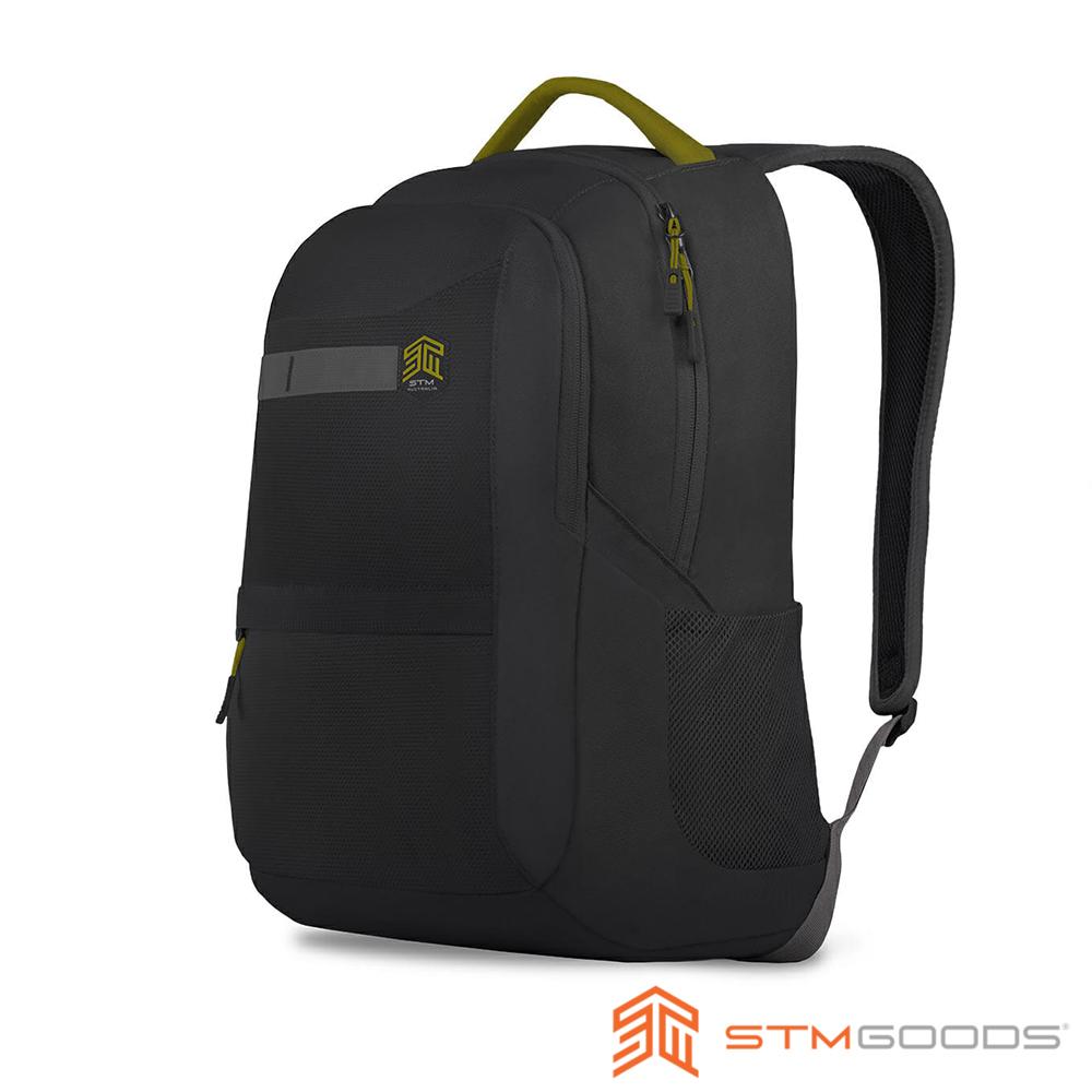 STM Trilogy Backpack 15吋 輕盈大容量筆電後背包 (黑)