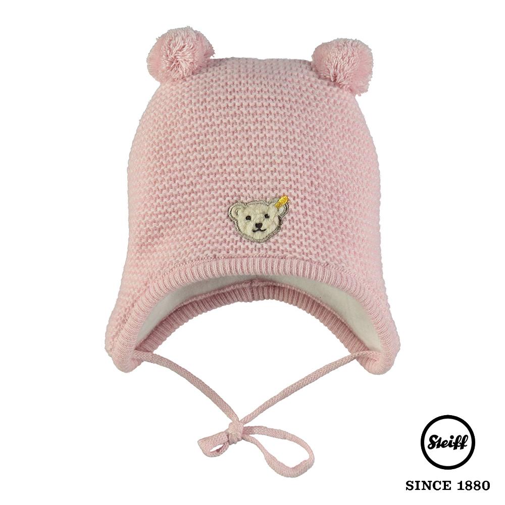 STEIFF德國精品童裝 球球耳朵羊毛針織毛帽